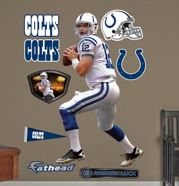 Andrew Luck Wall Stickers