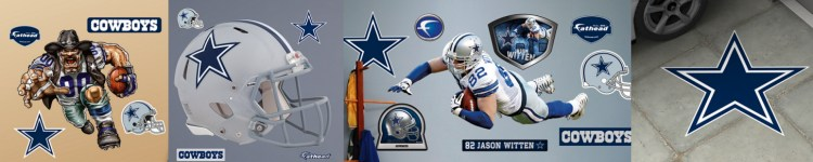 Dallas Cowboys Wall Decals