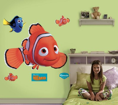 disney finding nemo wall sticker set