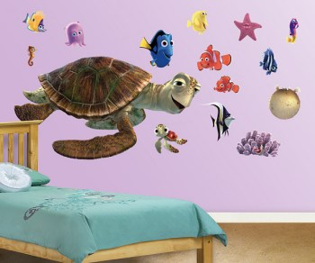Finding Nemo Turtle Wall Stickers