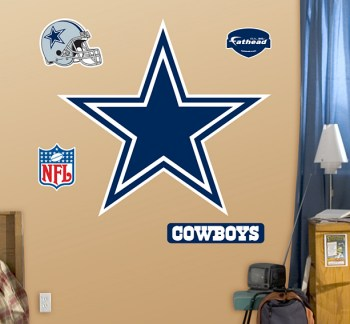 Huge Dallas Cowboys Start Logo Fathead
