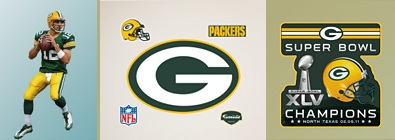 Green Bay Packers Fatheads