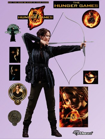 Katniss Everdeen Wall Stickers