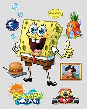 large spongebob squarepants wall decals