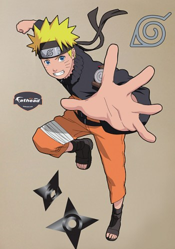 Naruto Uzumaki Wall Decal