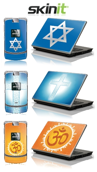 religious laptop and phone skins