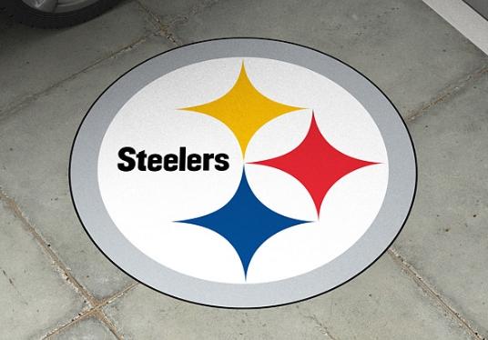 NFL Fathead Outdoor Floor Logos
