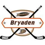 Fathead Anaheim Ducks Personalized Name Fathead Wall Decal