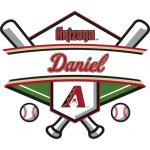 Fathead Arizona Diamondbacks Personalized Name Fathead Wall Decal