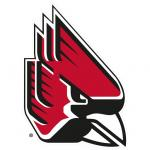 Fathead Ball State Cardinals Logo Fathead Wall Decal