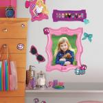 Entertainment Earth Barbie's Fabulous Frames Peel and Stick Giant Wall Decals