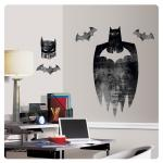 Entertainment Earth Batman Silhouette Peel and Stick Giant Wall Graphic
