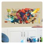 Entertainment Earth Big Hero 6 Marvel Wall Graphix Peel & Stick Giant Wall Decal