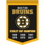 Fathead Boston Bruins Stanley Cup Champions Banner Fathead Wall Decal