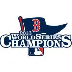 Fathead Boston Red Sox - 2013 World Series Champions Teammate Logo Fathead Wall Decal