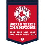 Fathead Boston Red Sox World Series Champions Banner Fathead Wall Decal