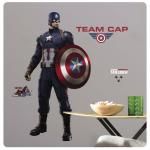 Entertainment Earth Captain America Civil War Peel and Stick Giant Wall Decals
