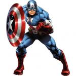 Fathead Captain America - Marvel's Avengers Assemble Fathead Wall Decal