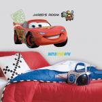 Hayneedle Cars 2 Lightening Personalized Giant Wall Decal- 31.5W x 17H in.