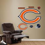 Fathead Chicago Bears ''C'' Logo Fathead Wall Decal