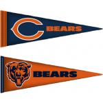 Fathead Chicago Bears Pennants - Fathead Jr. Wall Sticker