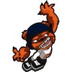 Fathead Chicago Bears Rusher Fathead Wall Decal