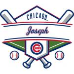 Fathead Chicago Cubs Personalized Name Fathead Wall Decal