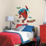 RoomMates Peel and Stick Classic Spider-Man Comic Giant Wall Decals