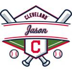 Fathead Cleveland Indians Personalized Name Fathead Wall Decal