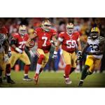Fathead Colin Kaepernick: 2013 NFL Playoff Rush Mural Fathead Wall Decal