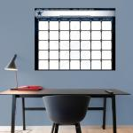 Fathead Dallas Cowboys 1 Month Dry Erase Calendar Fathead Wall Decal
