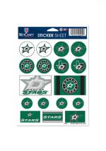 Rally House Dallas Stars 5x7 Souvenir Stickers