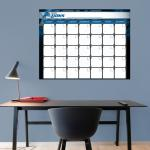 Fathead Detroit Lions 1 Month Dry Erase Calendar Fathead Wall Decal