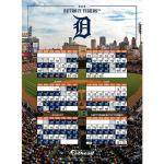 Fathead Detroit Tigers 2016 Schedule Teammate Fathead Wall Decal