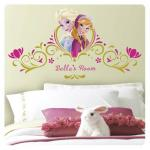 Entertainment Earth Disney Frozen Spring Time Custom Headboard Giant Wall Decals