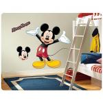 Entertainment Earth Disney Mickey Mouse Peel and Stick Giant Wall Applique