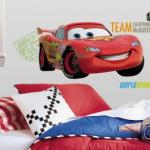 RoomMates Peel and Stick DisneyPixar Cars Lightning McQueen Giant Wall Decal