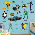 Hayneedle Fathead Batman Classic Comic Book Wall Decal Collection