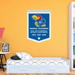 Hayneedle Fathead NCAA Kansas Jayhawks Mens Basketball National Champions Wall Decal
