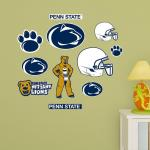 Hayneedle Fathead NCAA Penn State Nittany Lions Junior Logo Assortment Wall Decal